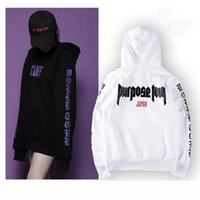Wholesale- Purpose Tour Hoodie JAPAN Staff Justin Bieber Swe...