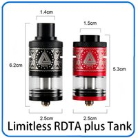 Limitless RDTA Plus 6. 3ml Big Capacity Atomizer Tank Best Ma...