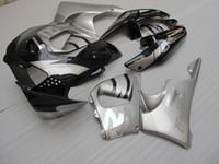 무료 혼다 CBR919RR 용 페어링 키트 사용자 정의 98 99 검은 색 은색 페어링 세트 CBR 900RR 1998 1999 OT11