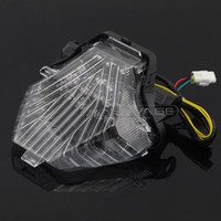 Para YAMAHA MT-07 FZ-07 MT07 FZ07 2014 2015 2016 motocicleta integrada LED luz de cola luz intermitente lámpara intermitente
