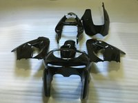 Kit carénage de moto pour KAWASAKI Ninja ZX-9R ZX9R ZX 9R 98 99 ZX9R 1998 1999 Ensemble carénage noir brillant + cadeaux KC01
