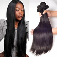 Peruvian Straight Hair Weaves Unprocessed Human Virgin Hair ...