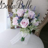modabelle Бюк де Нойва невесты цветок букет casamento шлейф Бюк искусственные свадебные букеты невесты Букет 2018