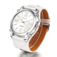뜨거운 판매 새로운 도착 시간 제한 핫과 중립 손목 시계 큰 다이얼 로마 망 패션 플렉시 유리 거울 및 가죽 시계 무료