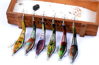2017 New 3 section ABS Plastic Artificial Minnow bass Fishin...