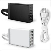Station de charge rapide Dock 5 Port USB 3.0 Chargeur de bureau USB 3.0 5V / 8A pour iPhone 7 iPad Air Smartphones Tablettes