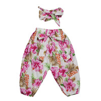 New Style Spring Autumn Ruffle Baby Harem Pants Cotton Full ...
