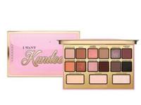 Par ePacket Brand je veux Kandee Eautshadow Palatte Je veux Kandee Limitée Edition Candy Eye Eye Eyeshadow Palette 15 couleurs Eautshadow Palatte