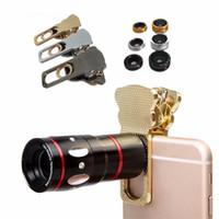 10x zoom óptico telescópio lente macro telefoto grande angular 180 fisheye cat clipe universal telefone celular câmera lente do telefone para o smartphone