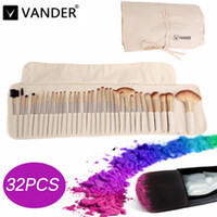 Vanderlife 32pc Champagne Gold Professional Soft Cosmetic Ey...