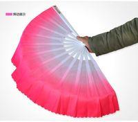 20pcs / lot liberano il velo di seta del ventilatore cinese di nuovo arrivo di trasporto 5 colori disponibili per il regalo di favore della festa nuziale