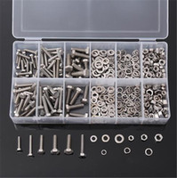 XNEMON 475pcs Metric Washers Nuts and Bolts Kit Hard Disk Sc...
