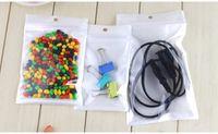qualità superiore chiaro + bianco di plastica Poly OPP sacchetto di imballaggio postale blocco alimentare imballaggi al dettaglio gioielli sacchetto di plastica in PVC molti formato disponibile