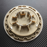 4 قطع 146 ملليمتر رمادي / أسود حافة غطاء مركز العجلة مركز قبعات ل tt كواترو رقم الجزء 8D0 601 165 كيلو 8D0601165K
