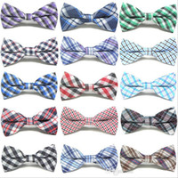 Children Fashion Formal Cotton Bow Tie Kid Classical Striped...