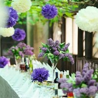15pcs 10 inch (25cm) Tissue Paper Pom Poms Wedding Party Dec...