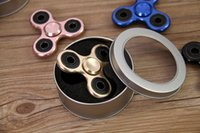 New arrived all metal Hand Spinner Triangle Tri Fidget Focus...