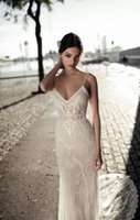 Full Lace Plus Size Wedding Dress Mermaid 2018 Newest Boho S...