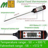 Électronique Numérique Thermomètre instruments hydromètre Viande Alimentaire Sonde Cuisine Cuisine station météo capteur de température
