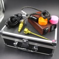 Prego Eletrônico Kit Caixa Caso Eletrônico Prego Plana 10mm 16mm 20mm Espiral Da Bobina De Aquecimento Prego livre navio