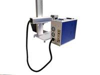 20W 30W الألياف الطاولة الليزر آلة وسم، raycus الموارد العلامة التجارية. لوضع علامات على المعادن والمواد الفولاذ المقاوم للصدأ
