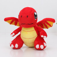 16. 5cm Hot Game Dragonvale plush toys Fire Red Dragon soft s...