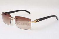 نظارات شمسية بدون فرملس نظارات شمسية 3524012 الثور الطبيعي القرن والنساء النظارات الشمسية نظارات نظارات نظارات: 56-18-140mm