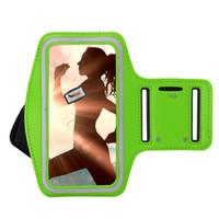 Cep Telefonu Kol Bankaları Samsung Note 8 S9 S9 Artı Gym Koşu Spor Kol Bandı Kapak Samsung Note 5 S8 S8 Artı Ayarlanabilir Armband Durumda