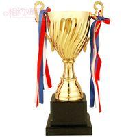 Özel metal kupası futbol trophy Basketbol, badminton spor kupası toptan Ücretsiz Kargo