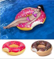 2017 New Arrival 48 Inch Gigantic Donut Swimming Float Infla...