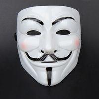 Party Masks V for Vendetta Máscaras Anonymous Guy Fawkes Disfraz Disfraz Adulto Accesorio Fiesta Cosplay Máscaras