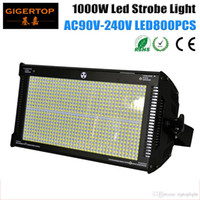 TIPTOP New 1000W Led Strobe Light Branco Cor 6500K-7200K Temperatura de Cor 1/3/6 canais modos 800PCS LED SMD 50-50 High Power TP-S1000