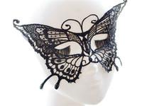 Estilos de mariposa sexy Dancing Party Mujeres Máscara de encaje Máscara Fancy Ball Masquerade
