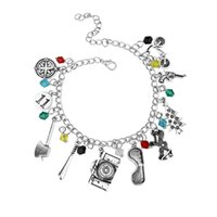 Wholesale- STRANGER THINGS FANDOM CHARM BRACELET ELEVEN DUSTI...