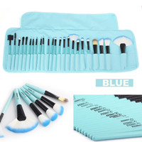 VanderLife Pro 24pcs Blue Color Makeup Brushing Brushes Set ...