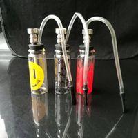 2018 Nouveau bang !! mini bangs en verre mélanger la couleur du tuyau d'eau en verre marque internationale DK livraison gratuite