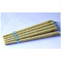 Wholesale - pure beewax ear candle unbleached organic muslin...