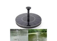 Mini Güneş Enerjisi Çeşmesi Havuz Su Pompası Fırçasız Enerji Tasarruflu Bitkiler Sulama Kiti Kuş Banyo Bahçe Gölet Için Güneş Paneli