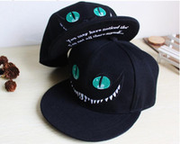 Alice au pays des merveilles Cheshire Cat cartoon chapeaux snapback casquette pour hommes Femmes snap back casquette de baseball snapback hiphop