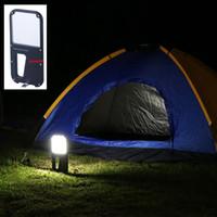 Luz de campo portátil al aire libre del campamento LED Luz del campo portátil de la linterna del campo para caminar la linterna de mano que acampa que acampa