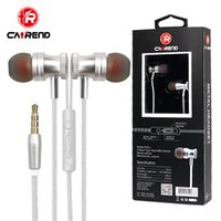 New! Metal bass earphone burst models headphone in ear heads...
