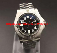 Wholesale - new Automatic Watch Men Black Dial Stainless Cas...