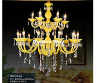 New Crystal Chandelier Modern Crystal Chandelier 18 Arm Opti...