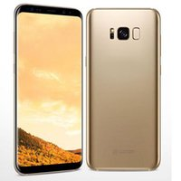 5.5Inch S8 S8 + MTK6580 Quad Core сотовый телефон 1GBRAM 16GBROM Curve Screen 5Mp 8MP Cambered Surfice Dual Camera 2 SIm card показать 128G Мобильный телефон