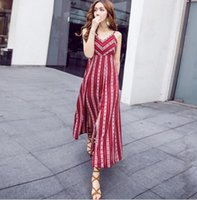 2017 Summer Bohemian Fashion Women' s Long Chiffon Dress...