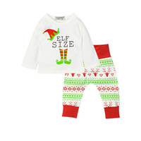 Baby Boy Girl Clothing Sets Cotton Long Sleeve Tshirt and Pa...