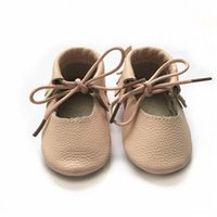 Kinghoo new summer mary jane baby leather shoes lace- up flat...