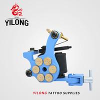 Hohe Qualität Neue Tattoo Maschine Handgemachte Taty Coil Gun 10 Wraps Liefert Kostenloser Versand