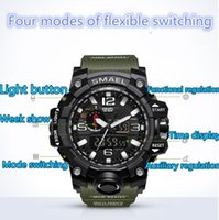 relogio G WG men' s sports watches GW1000 Display LED Fa...