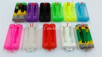 Colorful Double 18650 Battery Case Silicone Protective Cover...